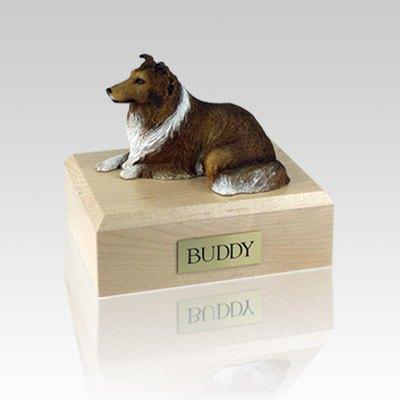 Collie Sable Medium Dog Urn