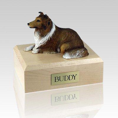 Collie Sable X Large Dog Urn