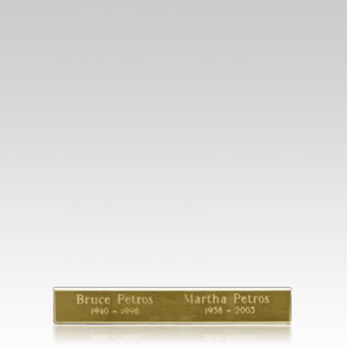 Companion Urn Engraving Plate