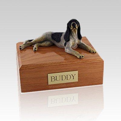 Coonhound Large Dog Urn