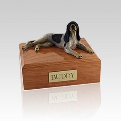 Coonhound Medium Dog Urn