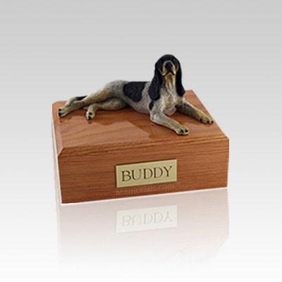 Coonhound Small Dog Urn