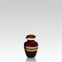 Crimson Keepsake Cremation Urn