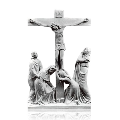 Crucifixion Small Marble Reliefs