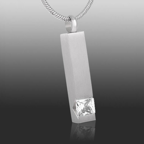 Crystal Cremation Necklace