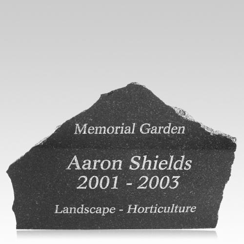 Customized Granite Memorial Rocks