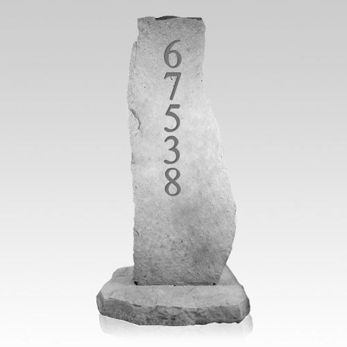 Customized Address Totem Rock