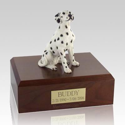 Dalmatian Seated X Large Dog Urn