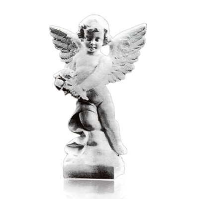 Dancing Angel Small Marble Statues
