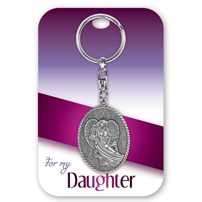 Daughter Angel Keychain