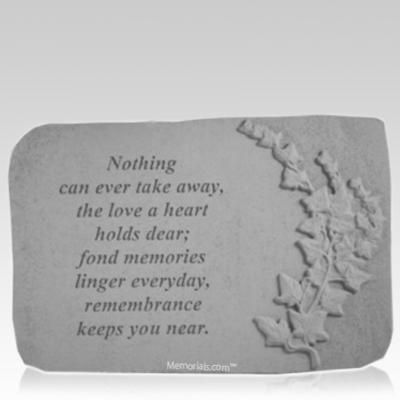 Dear Ivy Memorial Stone