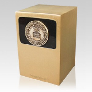 Dignified Air Force Bronze Urn