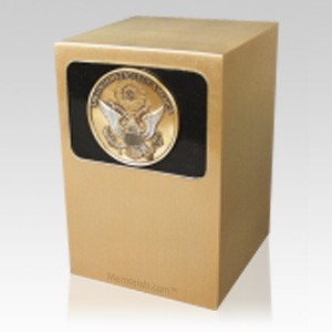 Dignified Great Seal Bronze Urn