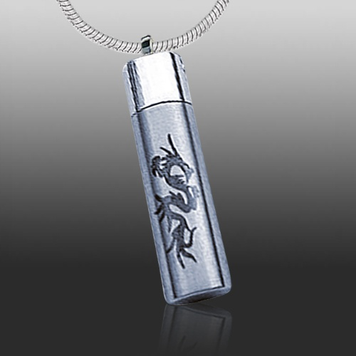 Dragon Funeral Cremation Necklace