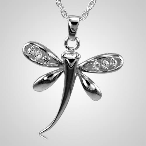 Dragonfly Cremation Pendant III