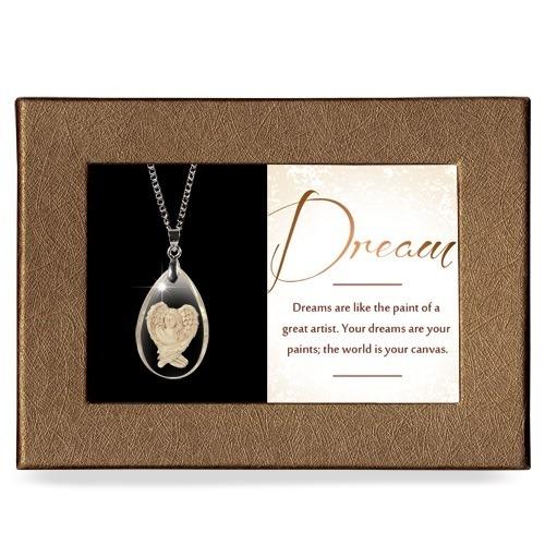 Dream Gift Boxed Angel Pendant