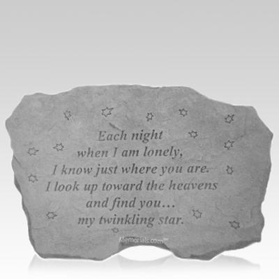 Each Night Memorial Stone