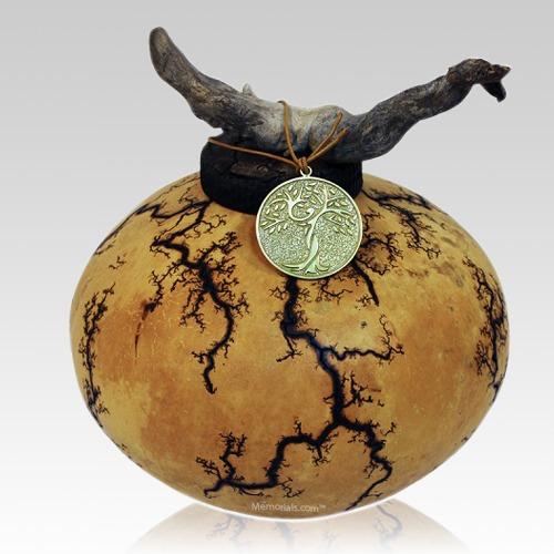 Earthen Gourd Biodegradable Urns