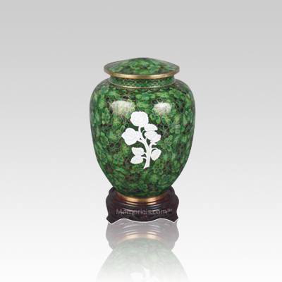 Peaceful Rose Small Cloisonne Urn