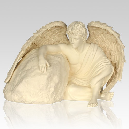 Eternal Guardian Angel Cremation Urn