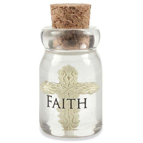 Faith Bottle Keepsake Charms