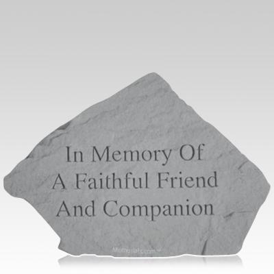 Faithful Friend Garden Stone