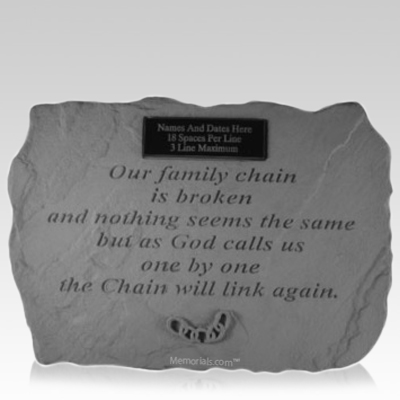 Family Chain Memorial Rock