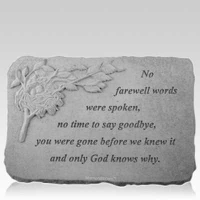 Farewell Nest Memorial Stone