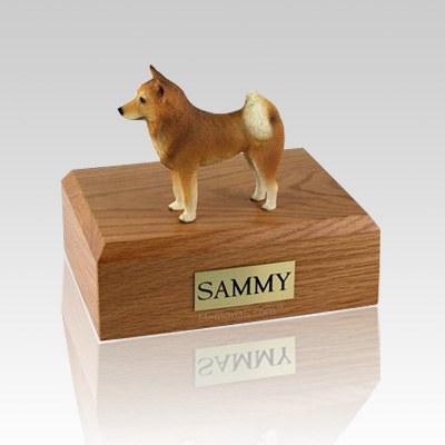 Finnish Spitz Large Dog Urn