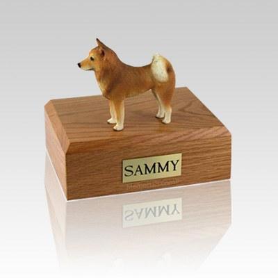 Finnish Spitz Small Dog Urn