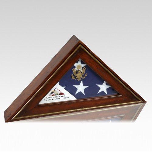 Five Star General Flag Display Case