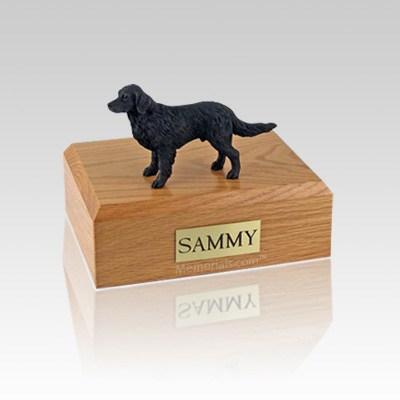 Flat Coated Retriever Small Dog Urn