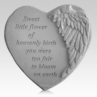 Flower Angel Heart Stone