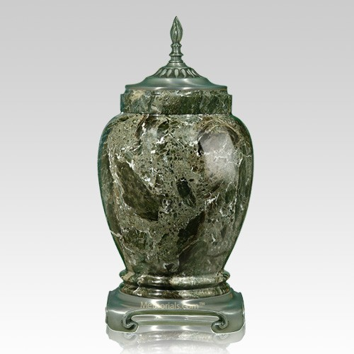 Forest Pewter Marble Urn