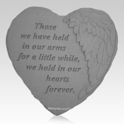 Forever Angel Heart Stone