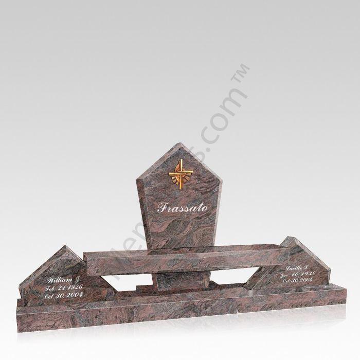 Frassato Cemetery Bench