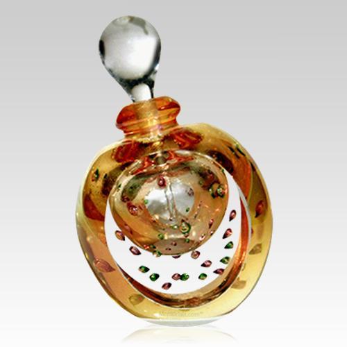 Gold Forever Bubbles Large Keepsake Urn