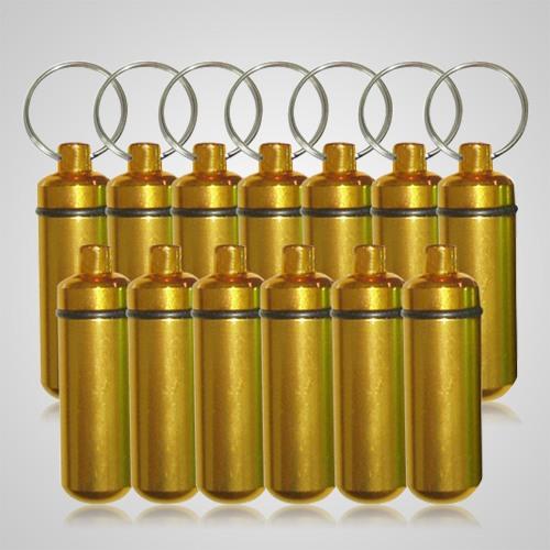 Gold Pet Keepsake Discount Keychains