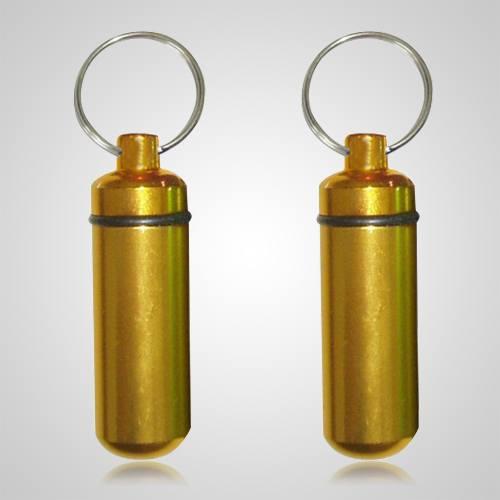 Gold Pet Keepsake Keychains