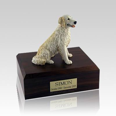 Golden Retriever Blond Medium Dog Urn