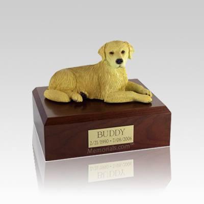 Golden Retriever Small Dog Urn