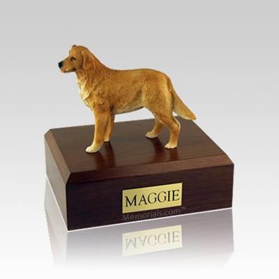 Golden Retriever Standing Small Dog Urn