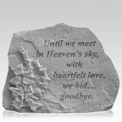 Goodbye Ivy Memorial Stone