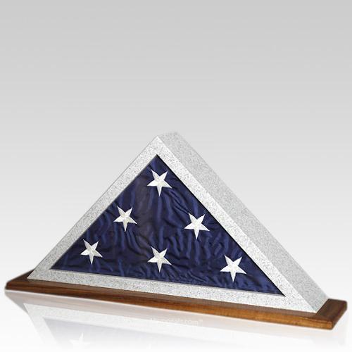 Granitone Walnut Flag Display Case