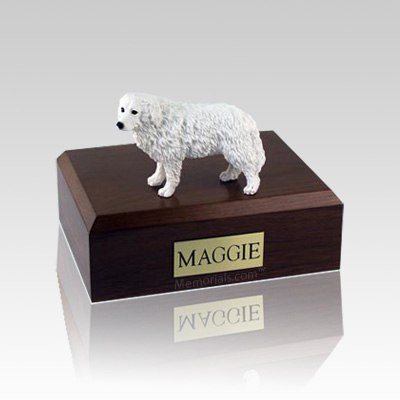 Great Pyrenees Medium Dog Urn