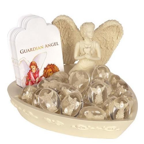 Guardian Angel Worry Stone Keepsake Set
