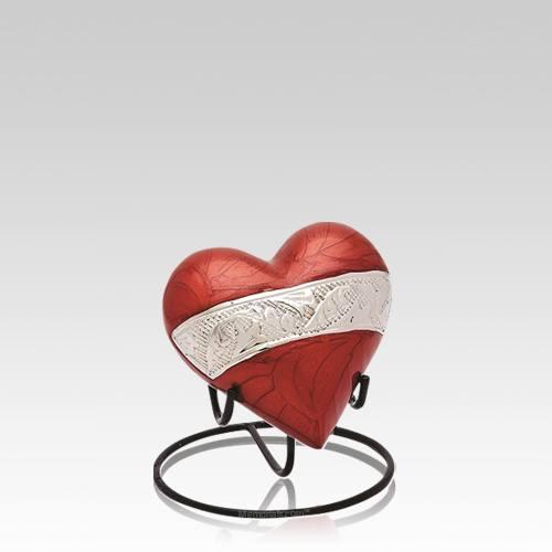 Guinevere Heart Keepsake Urn