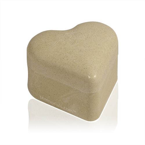 Heart Biodegradable Pet Cremation Urn