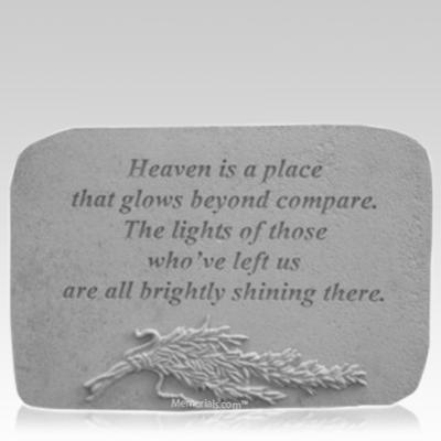 Heaven Rosemary Memorial Stone
