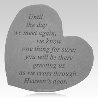 Heavens Door Heart Stone